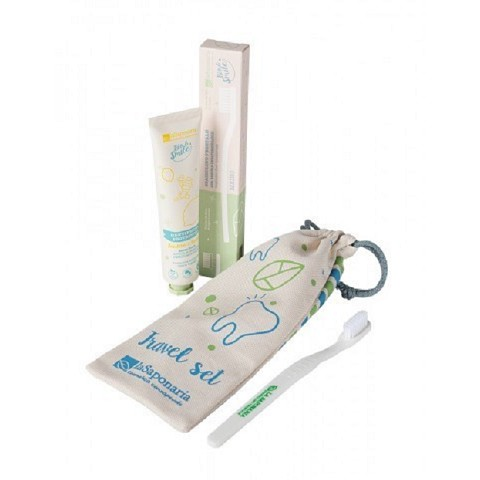 Travel set dentifricio+ spazzolino da denti