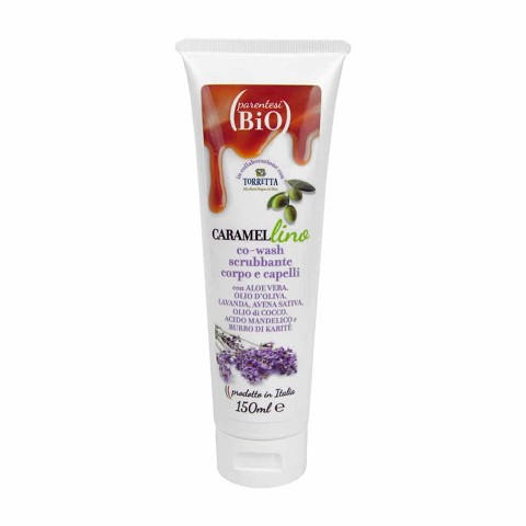 co-wash scrub corpo e capelli