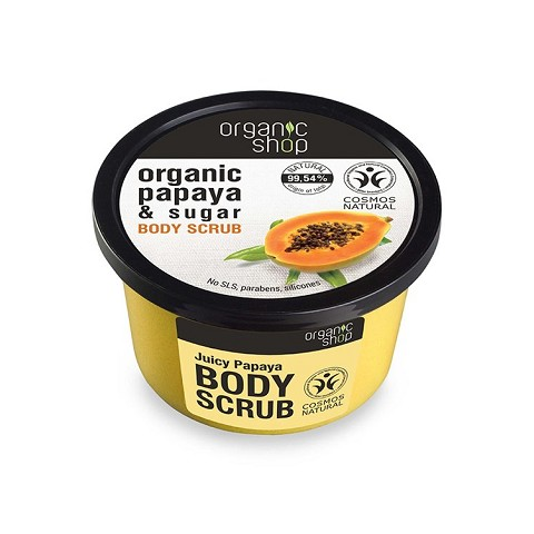Scrub Juicy Papaya - Organic Shop