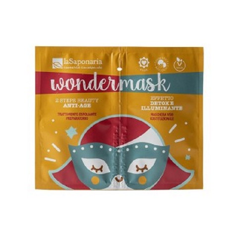 WonderMask 2 Step Beauty Antiage - La Saponaria